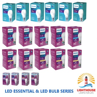 Philips LED Bulb Essential MyCare P45 E27 Lampu LED BULB ALL SERIES