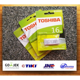 Flashdisk Toshiba 16GB/ Flash Disk /Flash Drive Toshiba 16GB (SATUAN)