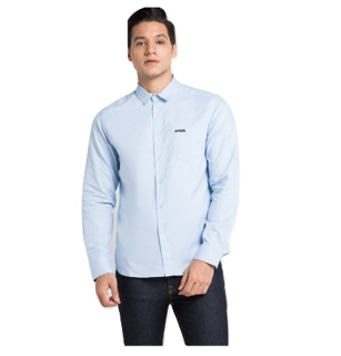 Cottonology Hella Long Blue Shirt
