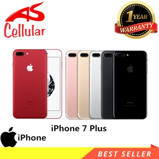 Apple iPhone 7 Plus 128GB Red - Garansi 1 Tahun