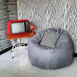 Beanbag Avocado - Cover only / Fullset plus Isi (Jogja via Gosend) Bean Bag Pumpkin