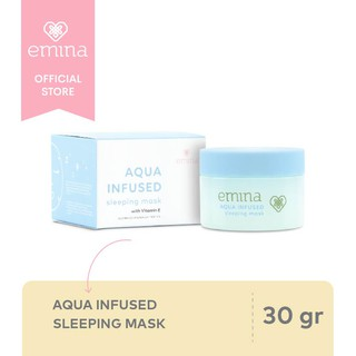 Emina Aqua Infused Sleeping Mask 30 gr