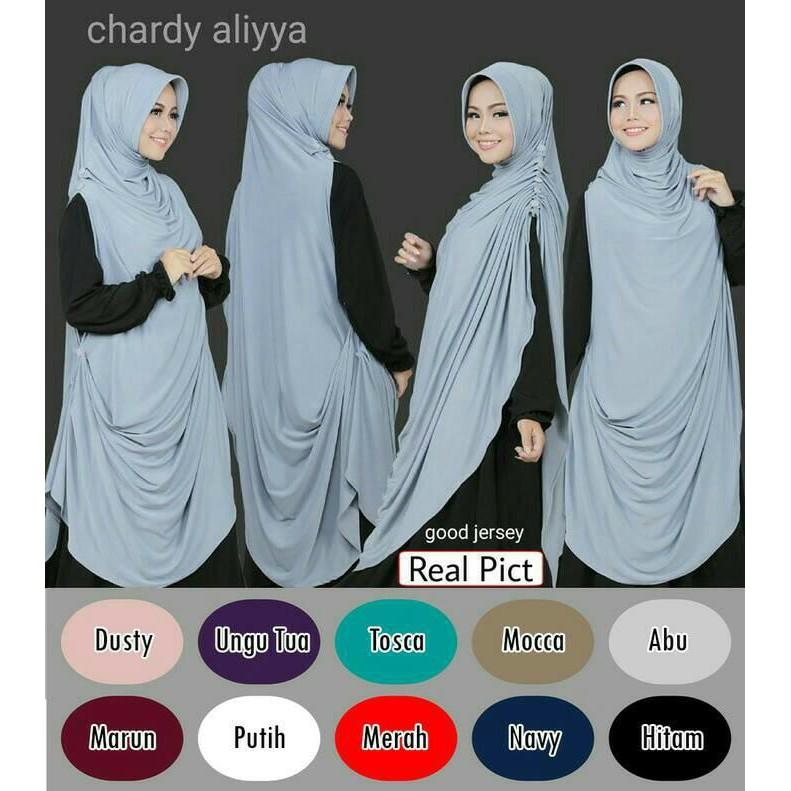 Chardy / Cardi Aliyya ( Hijab, Jilbab, Khimar, Kerudung, Bergo )