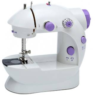 Mesin Jahit Mini Portable FHSM-202 GT-202 ada Lampu / Sewing Machine