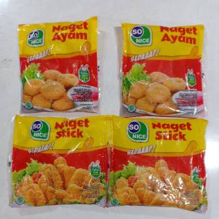 SONICE nugget & stick 250gr