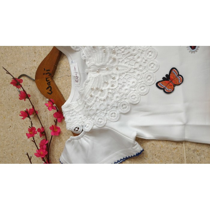 Diskon 40% Dress Anak 10-14Thn Setelan Pesta/ Dress Imlek Import Korea Brukat 261 Original