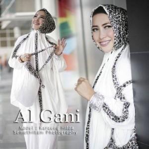 Best Quality Mukena Al Gani Original Leopard Terbaik!