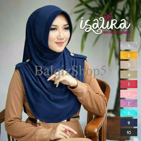 EKSLUSIF Kerudung/Jilbab Instant Isaura Premium