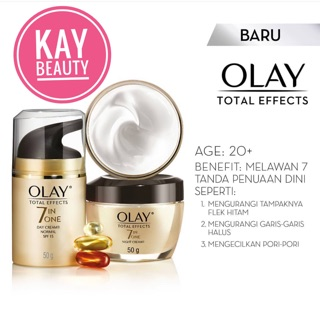 Olay Total Effect 50gr (Original 100% bisa COD)