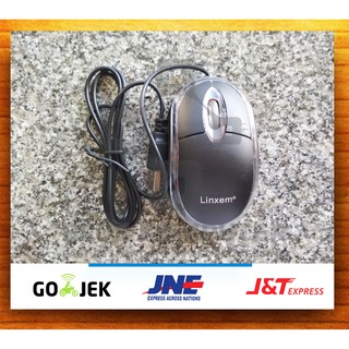 Mouse Optical USB Mouse (PROMO!) / Mouse Linxem Kabel MURAH MERIAH