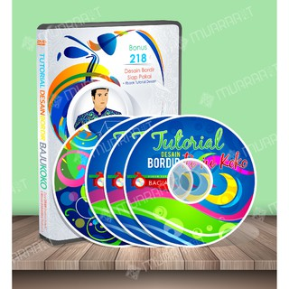 Video Tutorial Desain Bordir Baju Koko dengan Wilcom Embroidery Studio dan Video Tutorial Corel Draw