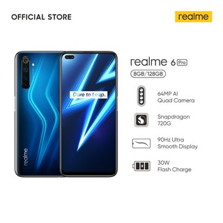realme 6 Pro 8/128GB [64MP AI Quad Camera, 4300mAh, 30W Flash Charge, Snapdragon 720G, 90Hz Display]