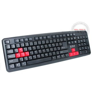 Keyboard usb PC Komputer Laptop keyboard usb standar M-tech