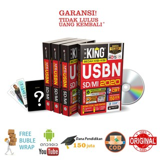 Bedah Kisi-Kisi USBN SD/MI 2020: The King - Forum Edukasi + CD dan Bonus lainnya