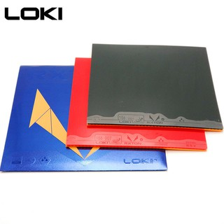 LOKI RXTON 5 Karet Bet Tenis Meja Rubber Pingpong Very Hard ITTF Fast Attack Loop Drive Strong Spin
