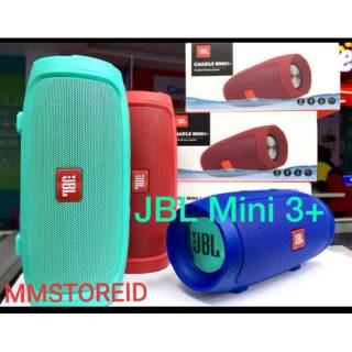 Speaker bluetooth mini 3+ super bass / speaker music wireless charge mini 3 + super bass