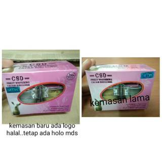 CREAM SUSU DOMBA / ( CSD ) ORI HOLO MDS NEW PACK