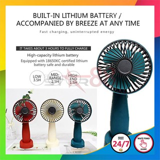 [SS88] B9 - KIPAS ANGIN PORTABLE MINI - ROTATABLE FAN HEAD - KIPAS GENGGAM PORTABLE USB DESKTOP FAN