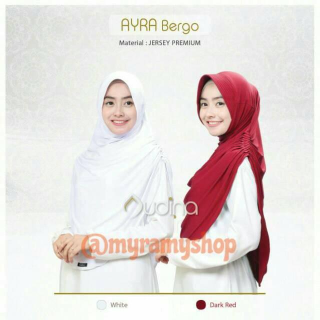 PROMO AYRA BERGO BY AUDINA INDONESIA : bergo cantik harga irit