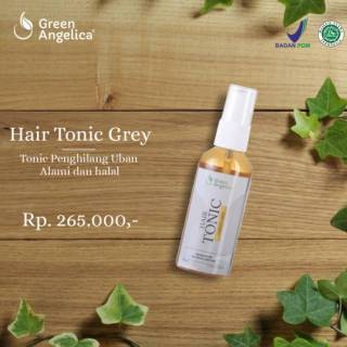 Green Angelica Hair Tonic Variant Grey