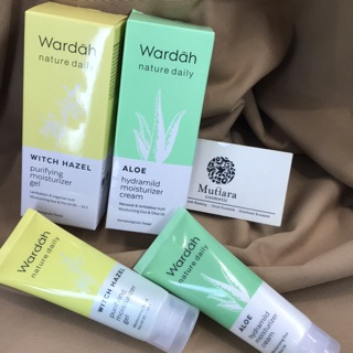 Wardah moisturizer gel dan cream