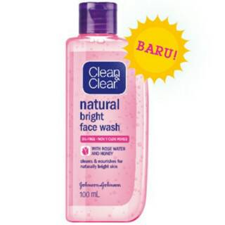 Clean And Clear Natural Bright Face Wash 100 ml