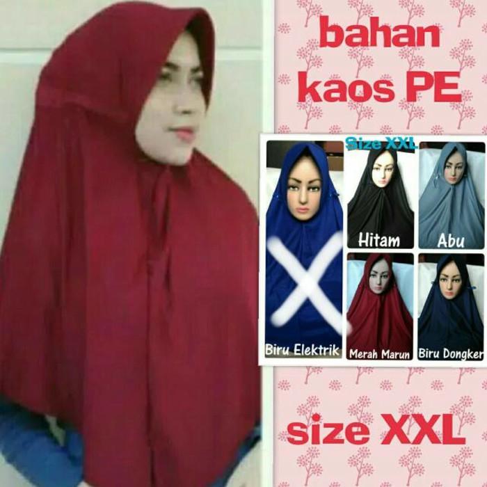 kerudung jilbab hijab serut ukuran XXL