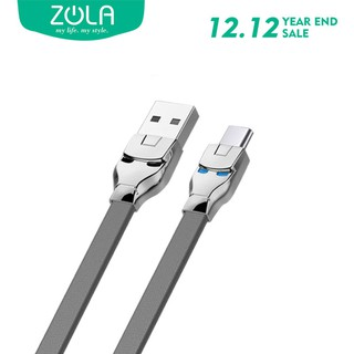 Kabel Data Type C ZOLA Marvel 100cm Fast Sync & Charging 2.1A - Grey