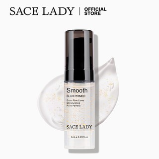 [Bayar Di Tempat] SACE LADY Blur Primer Moisturizing Pore Invisible Smooth Contorl Oil Face Makeup