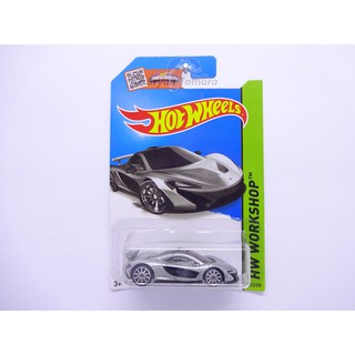 Hot Wheels mclaren p1 silver