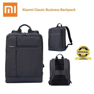 Xiaomi Bag Original Classic Business Backpack Tas Xiaomi Laptop Ransel Garansi Original Xiaomi