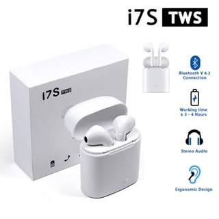 Airpods Headset Bluetooth 4.2 Sport Wireless Earphone HBQ i7s Tws Mini
