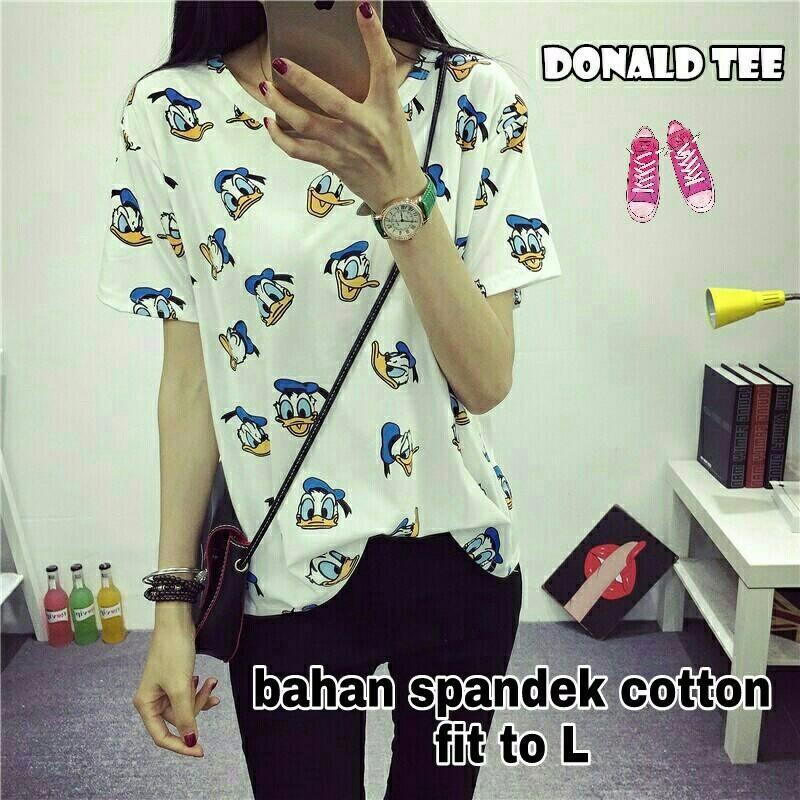 Donal Tee Pakaian Wanita Baju atasan cewek ABG