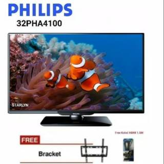 PHILIPS 32PHA4100 TV LED 32 Inch Free Breket