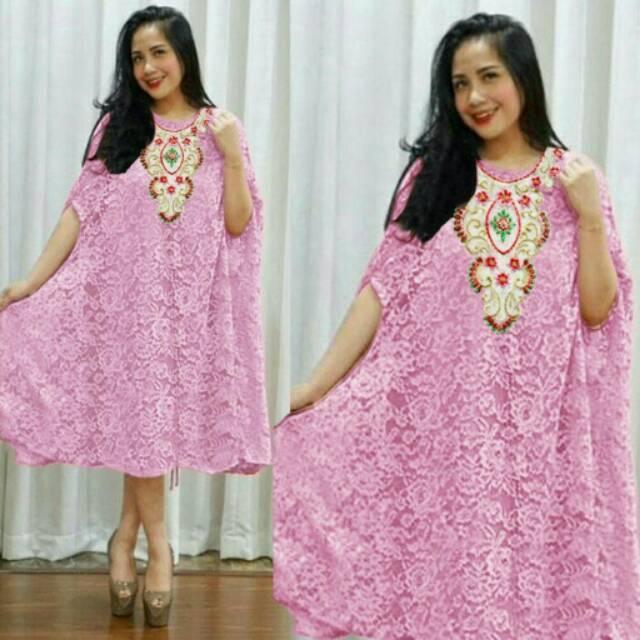 DRESS SLAVINA /kaftan /gamis/kebaya kutu baru/kaftan payet/ maxi dress