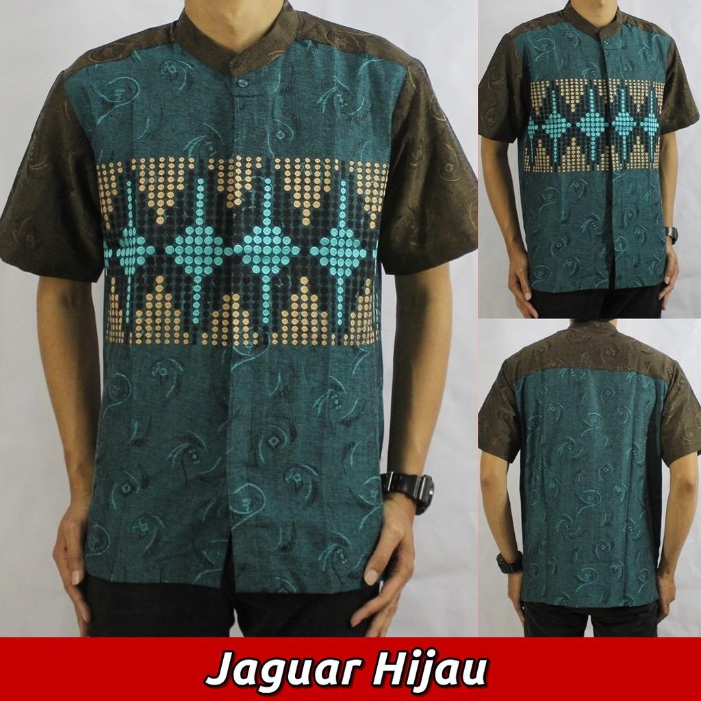 Baju Koko Jaguar (5 Varian Warna), Busana Muslim Pria