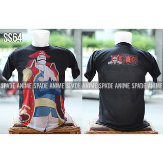 KAOS ANIME ONE PIECE GOLD D ROGER