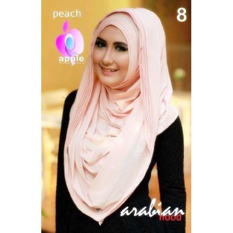 Jilbab Arabian Hood New Series By Apple Hijab