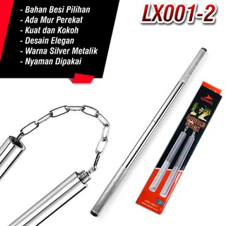 SPEEDS LX 001-2 DOUBLE STICK BESI NUNCHAKU TONGKAT BATON