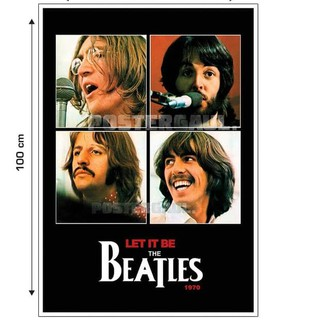 by Poster THE BEATLES #16B: LET IT BE - Gede 70 x 100 cm Z` `.