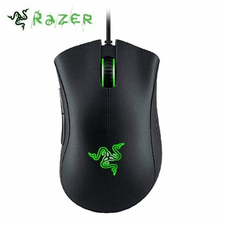 Razer Deathadder Chroma Mouse Gaming 10000dpi 16.8m Warna RGB LED USB