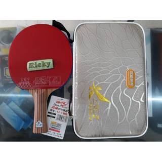 BET PINGPONG DOUBLE FISH K2-C CARBON - BET TENIS MEJA DOUBLE FISH K2-C CARBON - FREE COVER ORIGINAL
