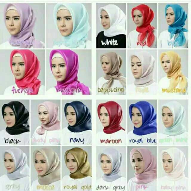 Hijab Organza Grosir