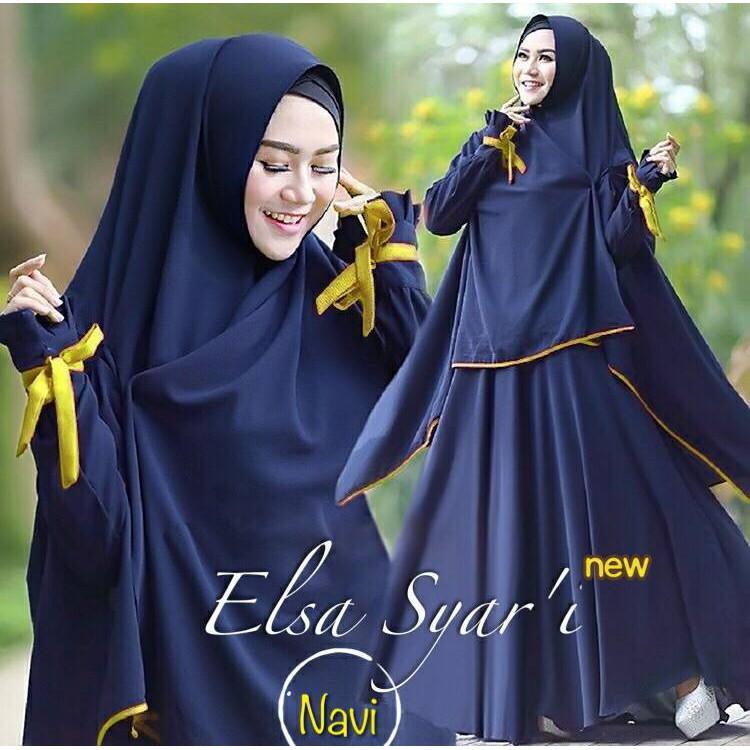 18- Elsa 3 NEW, navy list kuning mas Murah