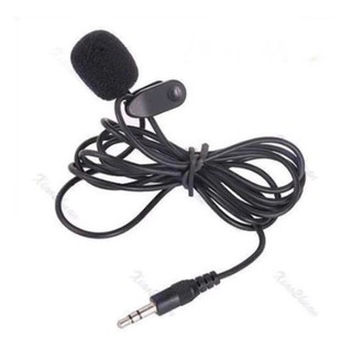 3.5mm 3.5 mm Microphone Youtuber With Clip ON Mic 2 garis Vlogger Vlog NEW