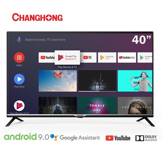 Changhong Google certified Android Smart TV 40 Inch Digital TV FHD LED TV-L40H4-Garansi Resmi 3Tahun