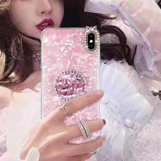 HARGA SPESIAL Crystal Case & Diamond Pop Socket Oppo A37 A71 A83 A3S A5S A7 A1K K3