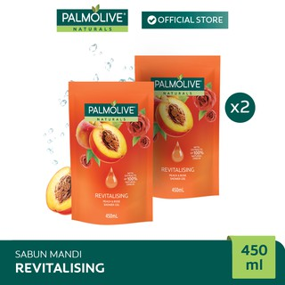 Palmolive Aroma Theraphy Revitalising Shower Gel/Sabun Mandi 450 ml x2