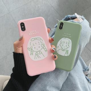 Case iPhone 5s 6 6S 6Plus 6s Plus 7 8 7Plus8plus Xs Max 11 Pro Max 3D relift Boy and girl case | LF
