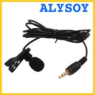 Microphone 3.5 Mm With Clip For Smartphone Tablet PC Laptop